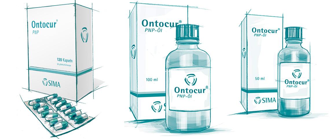 Unser Linderungsansatz für Polyneuropathie, setzt sich aus zwei Produkten Ontocur® PNP-Kapseln und Ontocur® PNP -Öl zusammen, die sich gegenseitig in ihrer Wirkung verstärken und ergänzen.